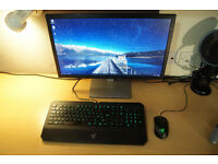 Gaming PC & Monitor - Intel i5 3.5 GHz, 24gb RAM, PNY GeForce 980 Ti
