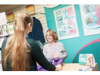 Volunteer Retail Assistants - PDSA Charity Shop, Derby