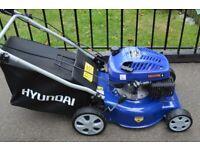 hyundi petrol lawnmower 43cm selfpropelled