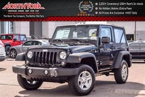 2016 Jeep Wrangler NEW Car Sport Manual 4x4 |Cruise|A/C|Fog Lamp