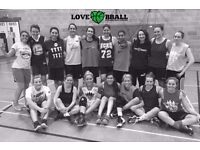 WOMEN'S BASKETBALL NEW TEAM IN LONDON