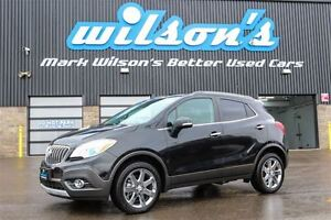 2016 Buick Encore CXL AWD! LEATHER! NAVIGATION! SUNROOF! REAR CA