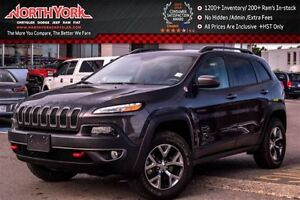 2016 Jeep Cherokee Trailhawk 4x4 Trailer Tow,Comfort&Convenience