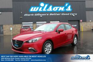 2014 Mazda MAZDA3 GS SKYACTIV SEDAN! NAVIGATION! HEATED SEATS! R