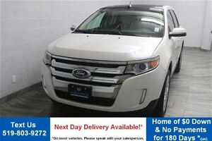 2013 Ford Edge SEL FWD w/ LEATHER! NAVIGATION! PANORAMIC SUNROOF