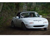 Mazda Mx5 Lanes Rally Car
