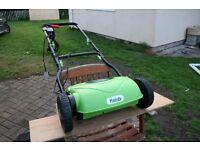 Lawn Mower and Scarifies / Grass Slit set
