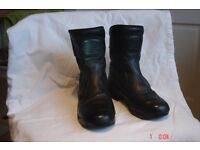 "Ladies ""SiDI"" Motorcycle boots. Size UK 4 EUR 37 Immaculate condition, only worn twice."