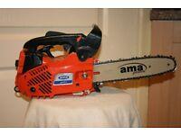 ama TH25 top handle chainsaw