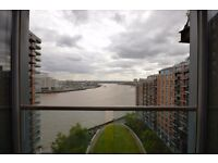 ! ! ! WOW ! ! !CANARY WHARF - NEW PROVIDENCE WHARF - 2 BED - RIVER VIEW - GYM - POOL - 24H CONCIERGE