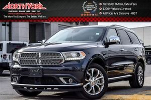 2016 Dodge Durango Citadel 4x4|7-Seater|Tech Pkg|Rear DVD|Nav|Su