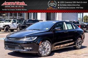2016 Chrysler 200 S AWD|Premium Lighting,Comfort Grps.|Leather|B
