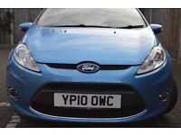 FORD FIESTA 1.4 AUTO BLUE 4 5 DOOR