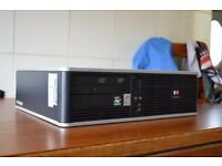 HP Compaq 5750 Desktop (AMD 2.30GHz Dual Core, 2GB DDR2 RAM, 80GB HDD, Windows 7 Pro)