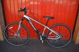SPECIALIZED CROSSTRAIL DISC HYBRID BIKE