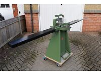 Morso picture framing guillotine. (Cassese CS88 underpinner also available)