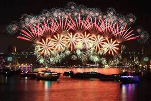 NYE on the Boat in Sydney