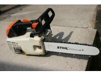 Petrol chainsaw Stihl MS200T top handle