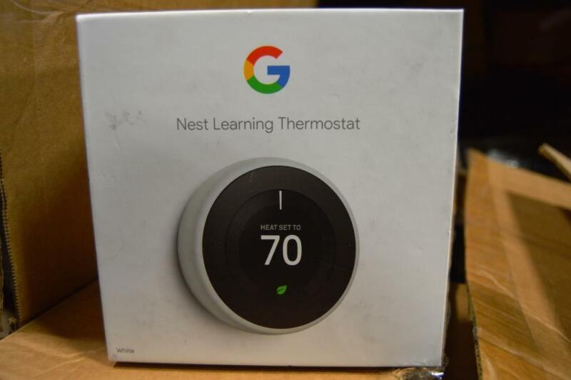 Nest T3017US 3rd Gen Programmable Thermostat WHITE t3017us