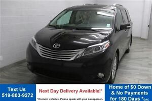 2015 Toyota Sienna LIMITED AWD w/ DVD! NAVIGATION! LEATHER! SUNR