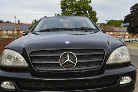 Mercedes ML 7 seater lpg and petrol (reduced price)