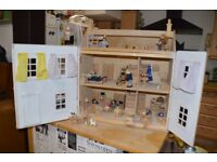 ELC dolls house with hundreds of extras , Perfect Christmas present