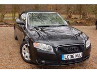 Audi A4 Convertible/Cabriolet 1.8T 2006 Black