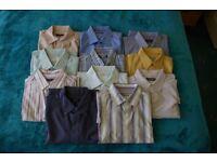 20 Mens casual shirts.
