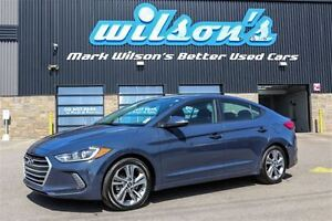2017 Hyundai Elantra GLS $62/WK, 5.89% ZERO DOWN! HEATED SEATS!