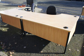 Oak effect office desk (more available)
