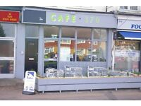 A3 Use West Molesey Cafe For Sale As a Going Concern - £44,000
