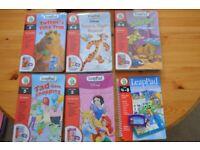LeapPad - 6 Books and cartridges