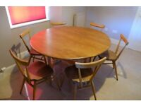 Ercol Dining Table & Chairs *SOLD*