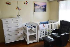 Boori Cot, Change table, Chair, Video Monitor, Drawers, Linen Brisbane City Brisbane North West Preview