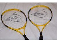 dunlop aluminium power plus 105 tennis rackets