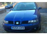Blue Seat Leon 1.9L tdsi, NEW MOT £600