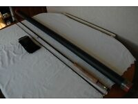 Hardy Deluxe classic fly rod 10ft6in no7/8