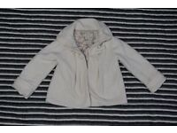 Girls Coat NEXT White 3-4 years old