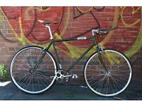 Brand new single speed fixed gear fixie bike/ road bike/ bicycles + 1year warranty & free service cl