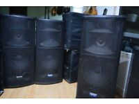 Mackie Active Speakers SR1530 in very good condition