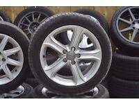 Audi A4 tecknik alloys