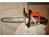 Stihl MS181c petrol chainsaw in excellent used condition