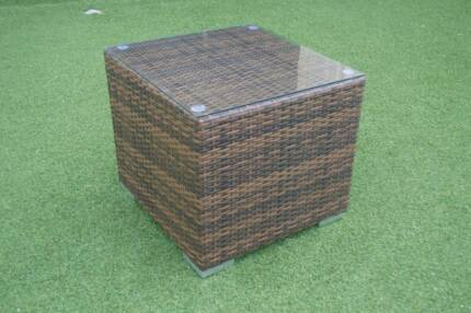 OUTDOOR WICKER COFFEE TABLE (WAS $159)
