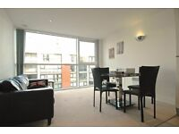 7th floor ONE bedroom flat in CAPITAL EAST, E16, gym, porter, furnished avaialble 4th August