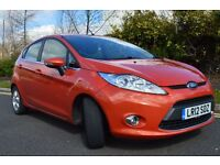 2012 Ford Fiesta 1.6 tdci econetic 0 tax 1 owner full service history clean economic car