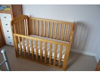 Traditional Drop-Side Cot
