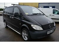 2006 MERCEDES BENZ VITO 109 CDI LONG LWB IN GOOD CONDITION WITH MOT UNTIL APRIL 2017