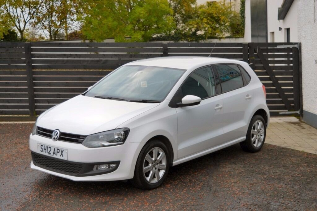 2012 vw polo 1 2 tdi match fvsh 2 owner not golf ibiza leon in ballymoney county antrim. Black Bedroom Furniture Sets. Home Design Ideas