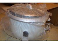 Professional Jumbo Rice Cooker Warmer Kitchen Catering Restaurant Take Away 8.5L