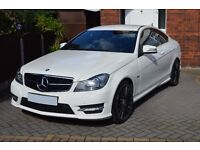 2011(61) MERCEDES-BENZ C250 CDI BLUEEFFICIENCY AMG SPORT EDITION 125 COUPE 7G-TRONIC – C63 STYLING